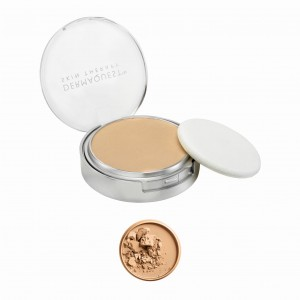 Dermaquest DermaMinerals Buildable Coverage Pressed Mineral Powder SPF 15 Peptydowo-mineralny puder prasowany SPF 15 - kolor 3W 9,1 g